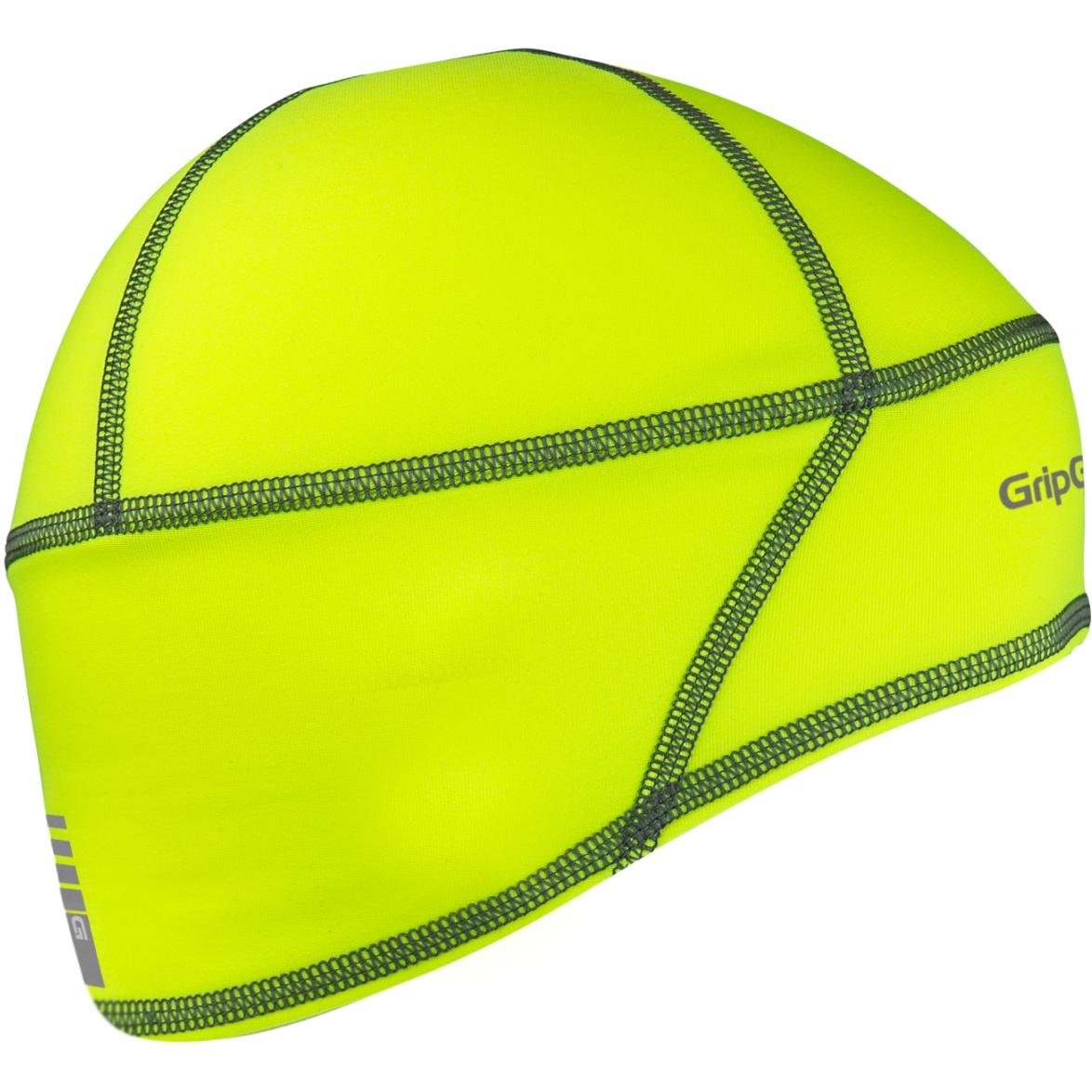 GripGrab Lightweight Thermal Hi-Vis Skull Cap - Yellow Hi-Vis