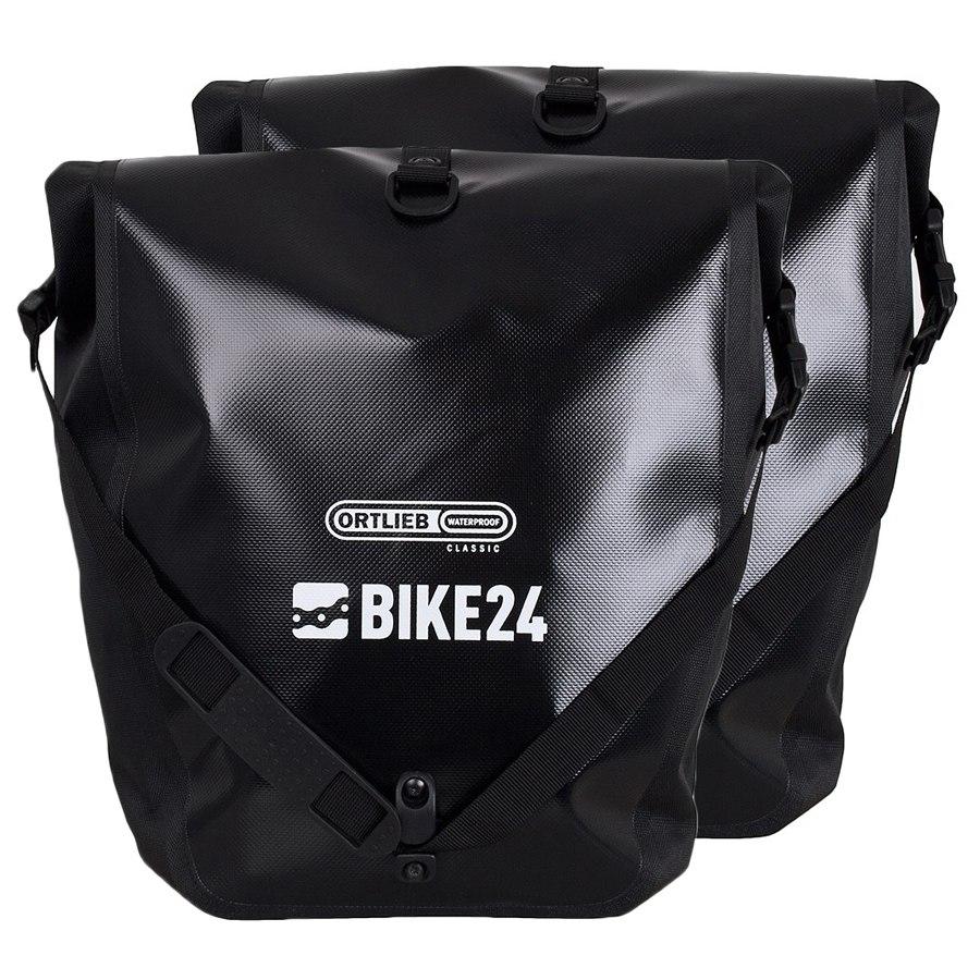 ORTLIEB Back-Roller BIKE24 Edition QL1 Fahrradtaschen 2x20L - black