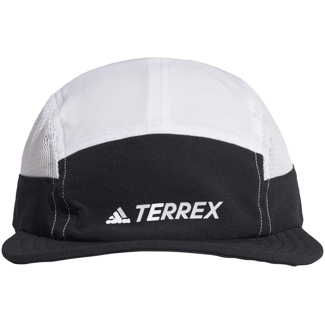 adidas TERREX Primegreen AEROREADY Five-Panel Cap - black/white/white GL8959