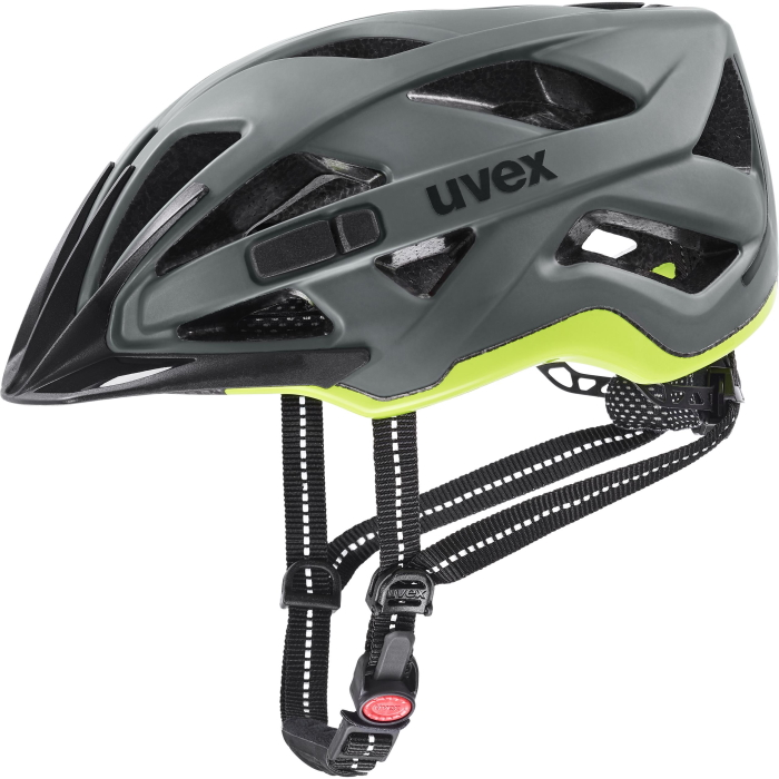 Uvex city active Helmet - anthrazit - lime mat
