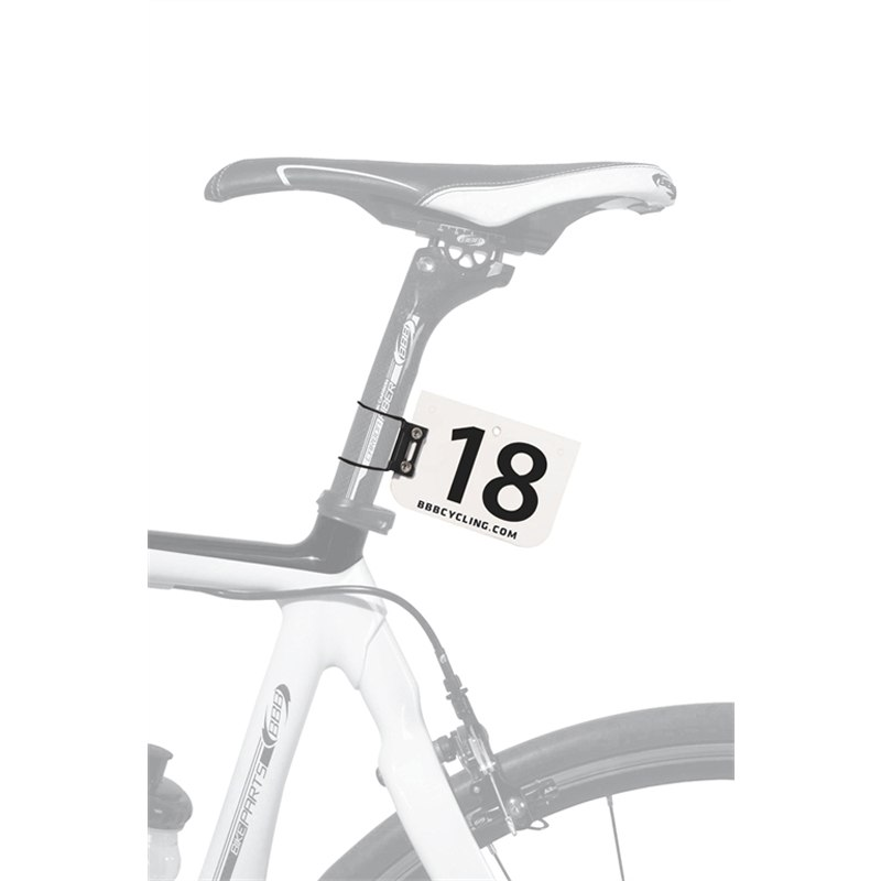 Image of BBB Cycling NumberFix BSP-95 Race Number Clamp