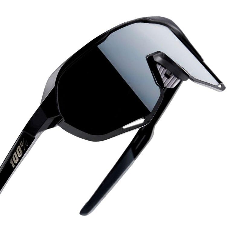Imagen de 100% S2 Smoke Lens Gafas - Soft Tact Black/Smoke + Clear