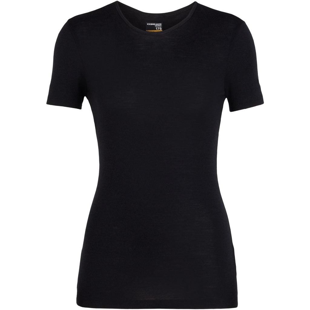 Produktbild von Icebreaker 175 Everyday Crewe Damen T-Shirt - Black