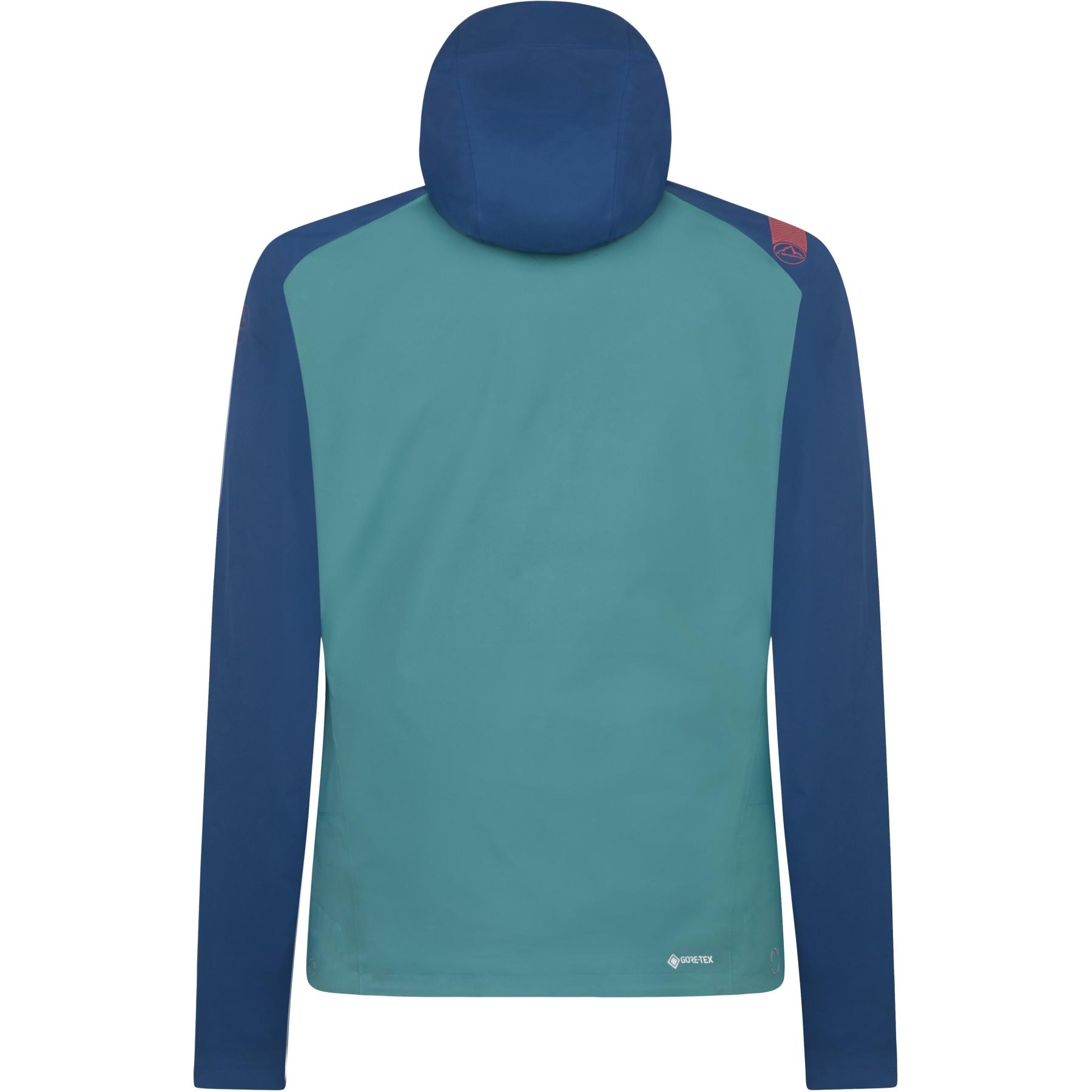Image of La Sportiva Zagros GTX Jacket - Opal/Pine