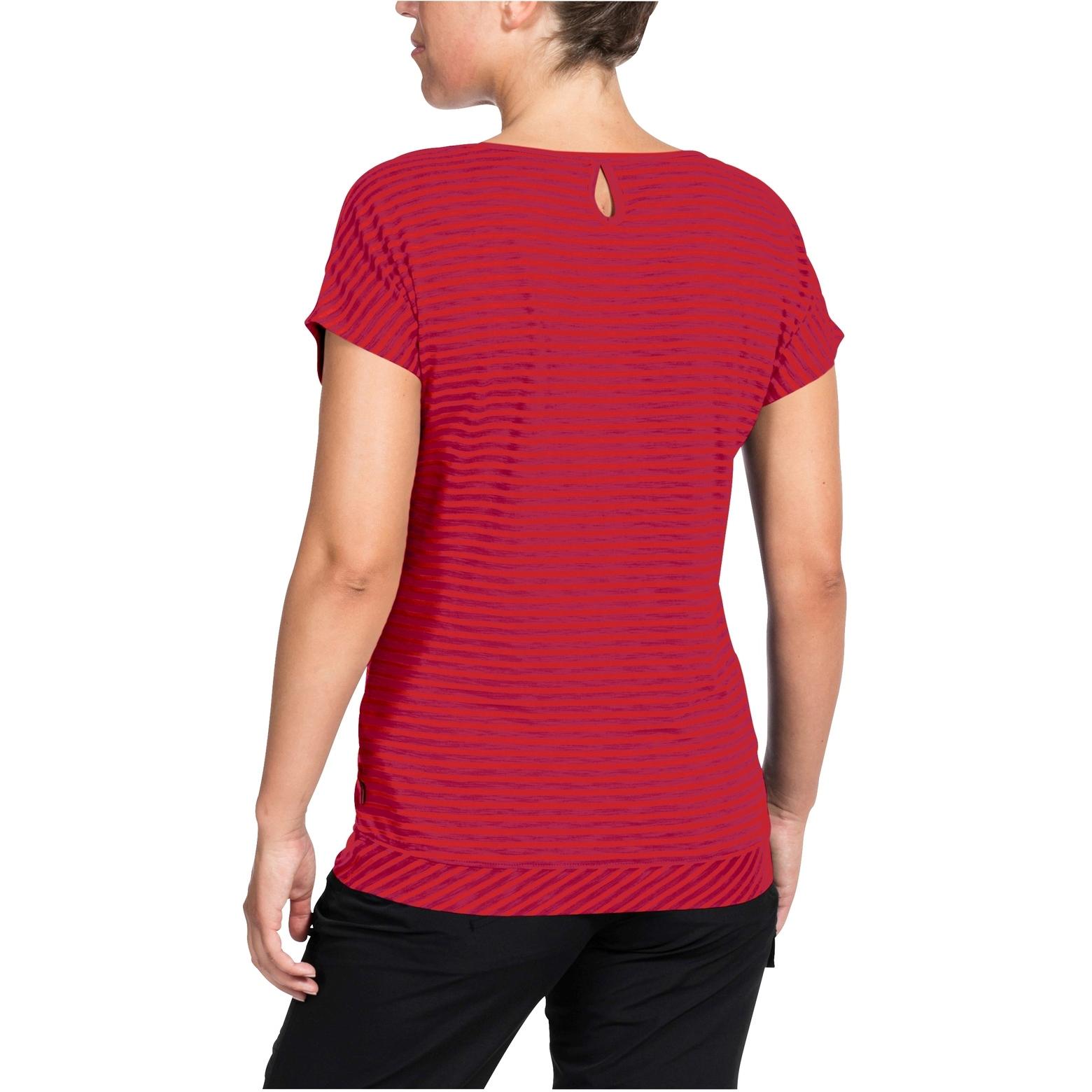 Bild von Vaude Skomer Damen T-Shirt II - mars red