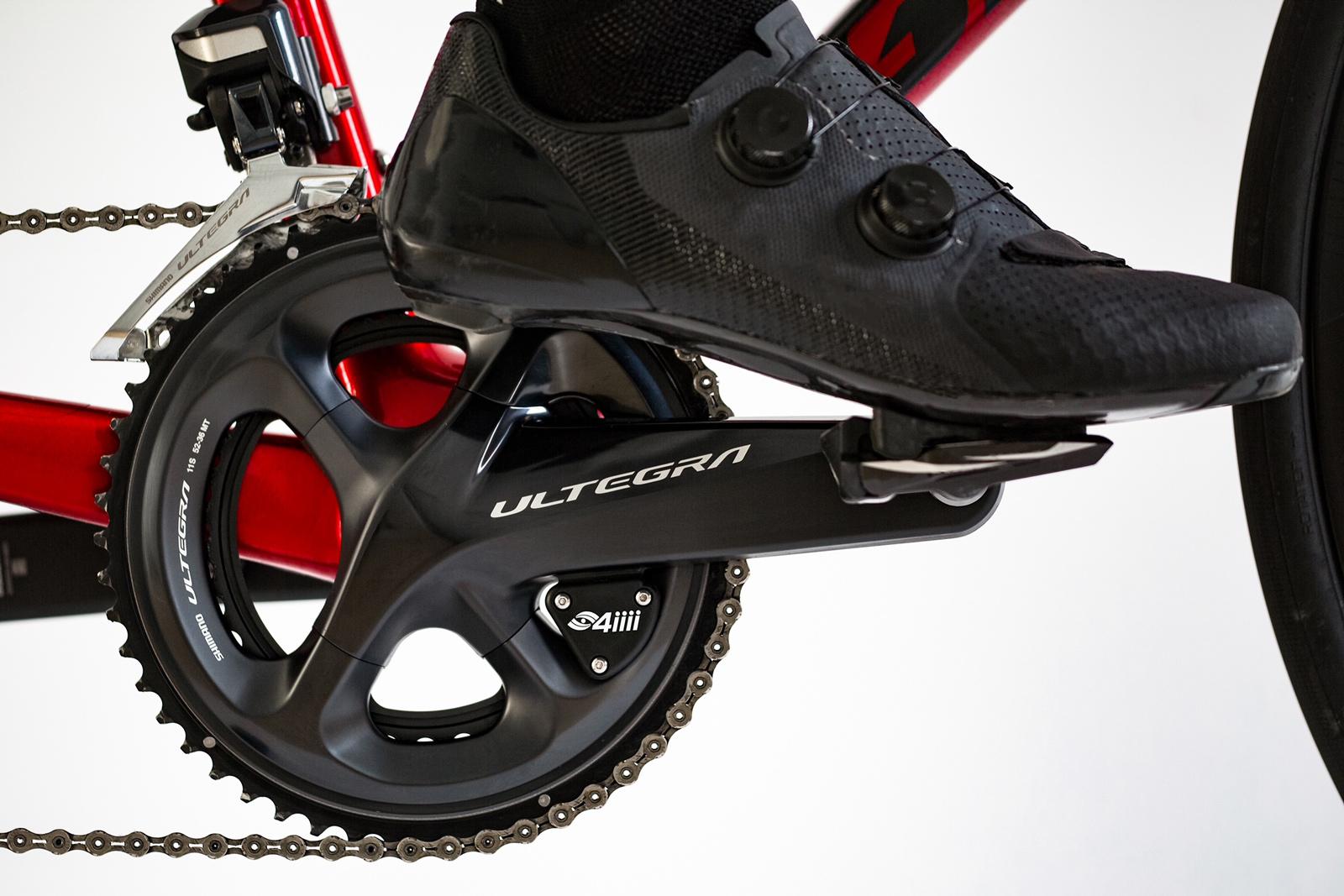 Imagen de 4iiii Dual-Side Precision Pro Biela con potenciómetro - Ride Ready - Shimano Ultegra FC-R8000