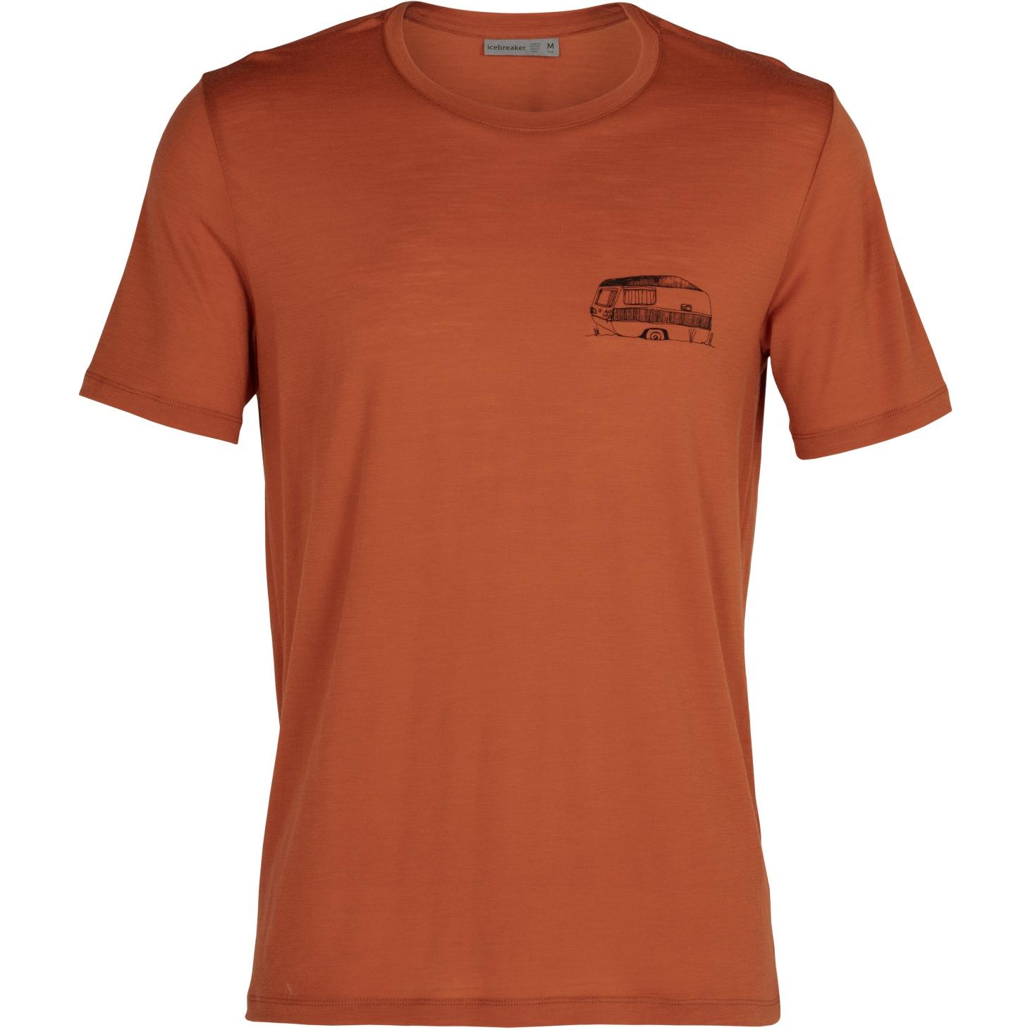 Bild von Icebreaker Tech Lite Crewe Caravan Life Herren T-Shirt - Roote
