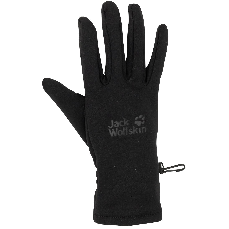 Picture of Jack Wolfskin Crossing Peak Gloves - black