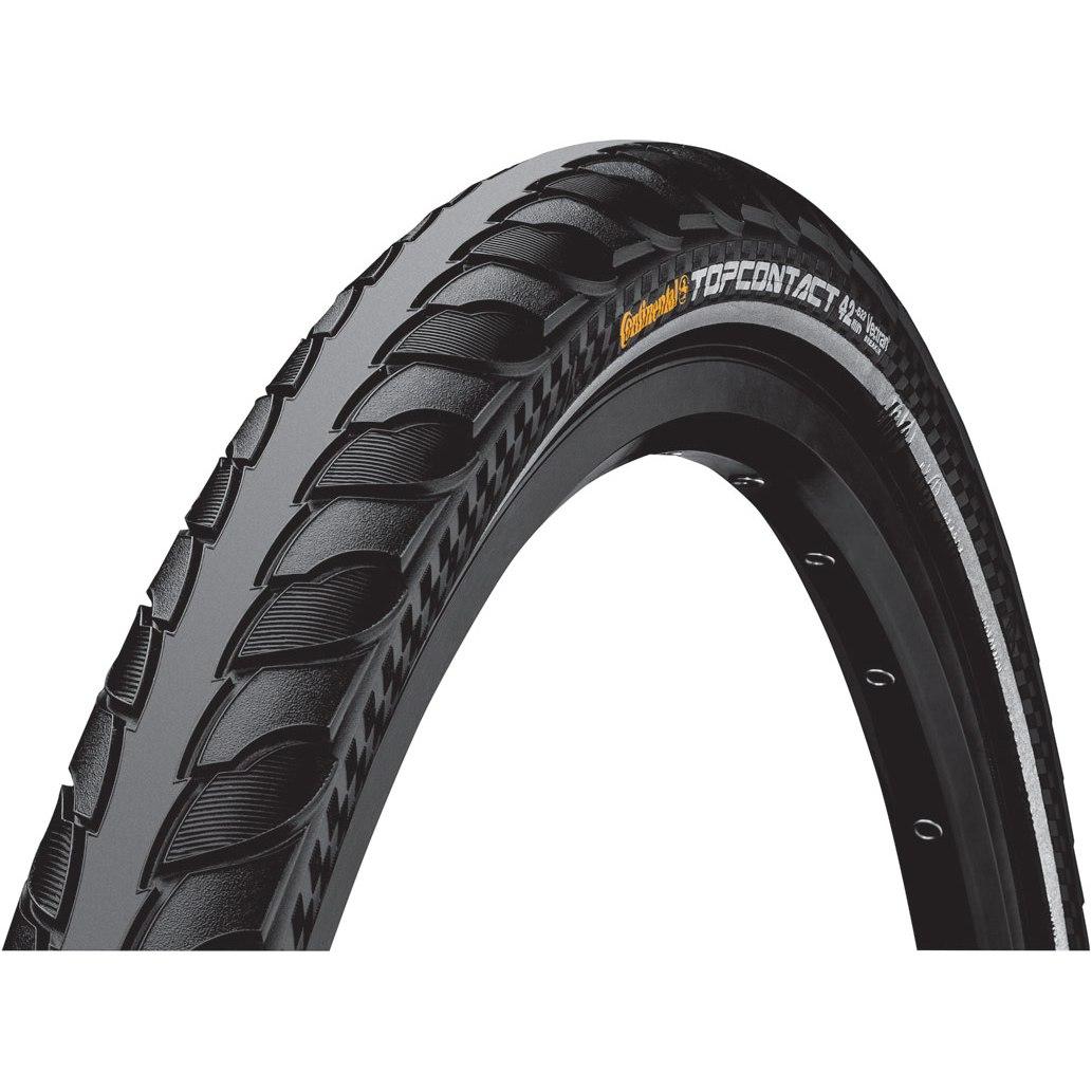 Continental Top Contact II E-Bike Folding Tire ECE-R75 - 28 Inch - black Reflex