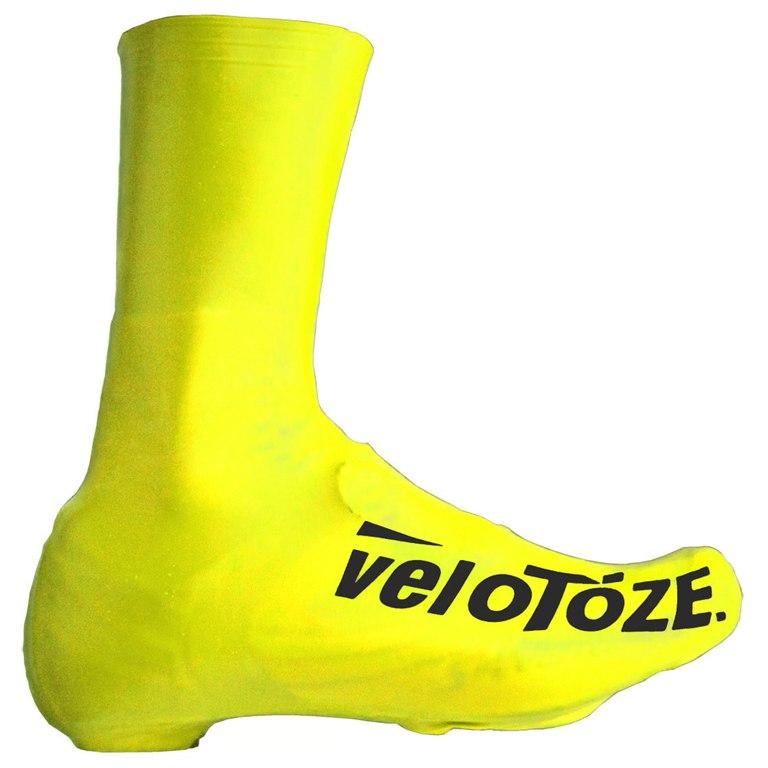 veloToze Tall Shoe Cover Road - viz-yellow