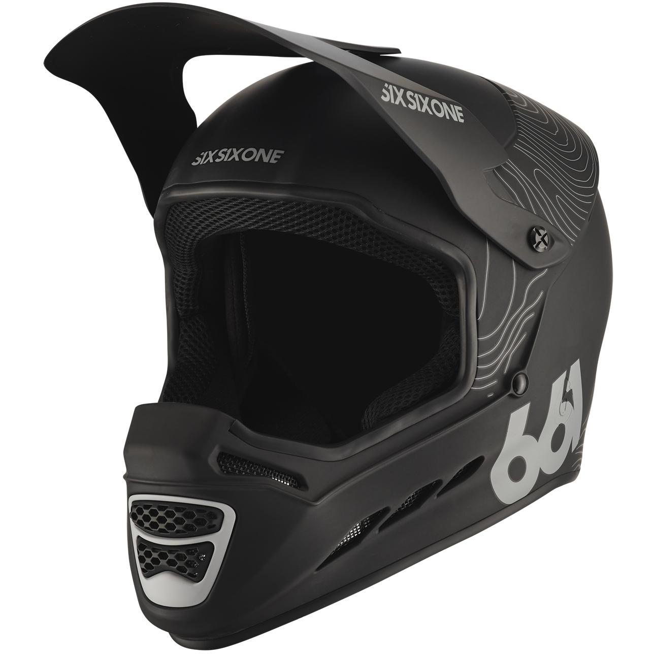 SIXSIXONE Reset Fullface Helm - Contour Black