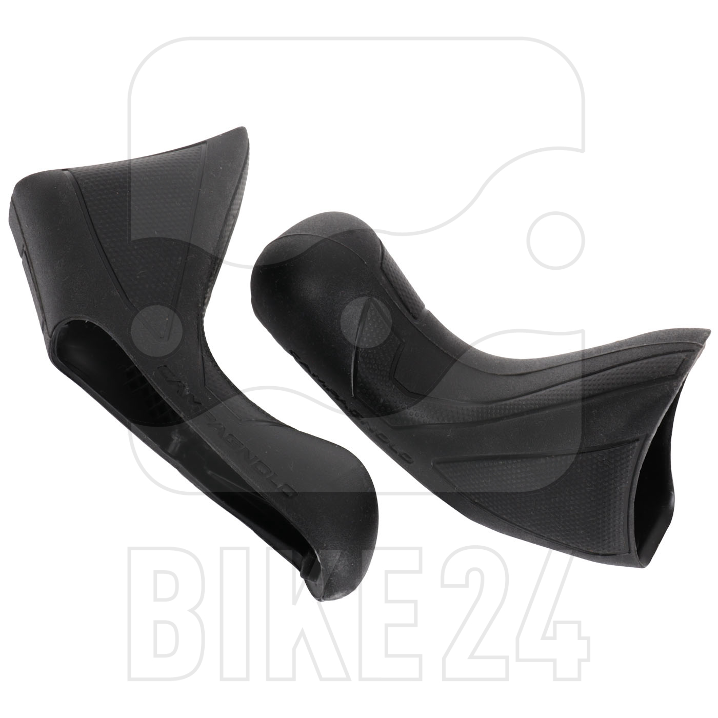 Image of Campagnolo EC-DB500PO Hoods for Potenza 11 Ergopower Disc - Pair - black
