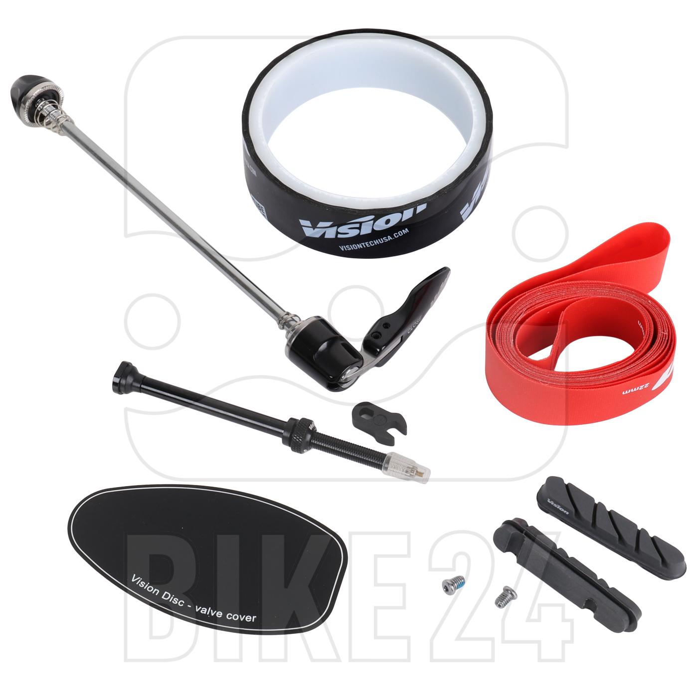 Bild von Vision Metron Disc Carbon Scheibenrad HR - Drahtreifen - QR
