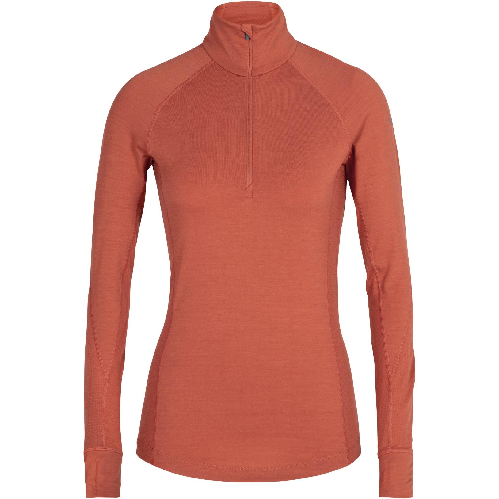 Produktbild von Icebreaker 260 Zone Half Zip Damen Langarmshirt - Clay