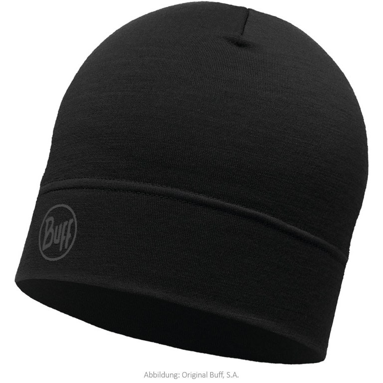 Buff® Lightweight Merino Wool Hat - Solid Black