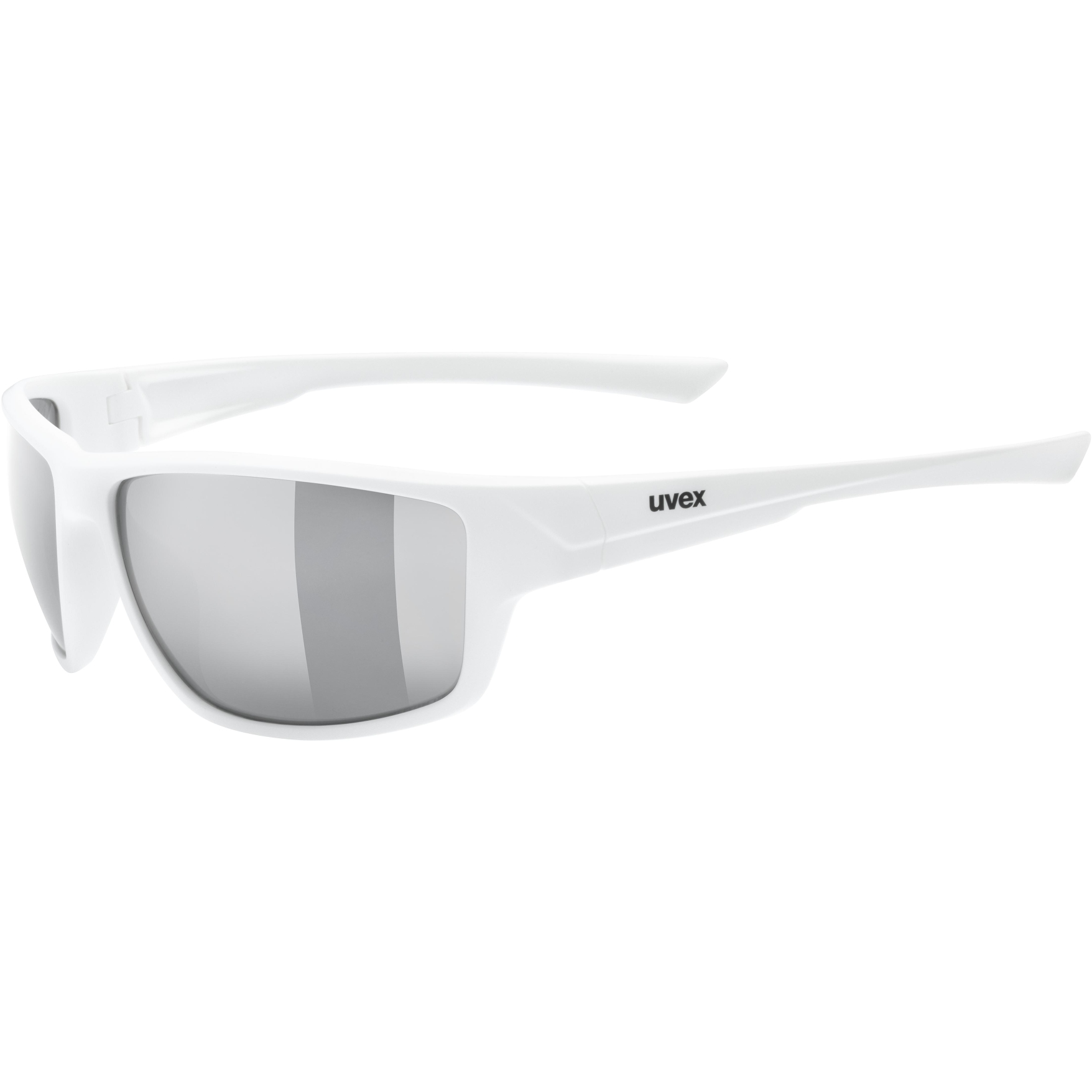 Uvex sportstyle 230 Glasses - white mat/litemirror silver
