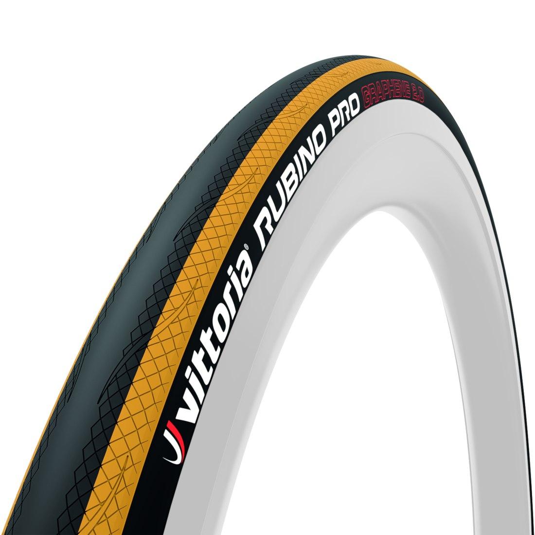 Vittoria Rubino Pro G2.0 Folding Tire - black / yellow - ETRTO 25-622
