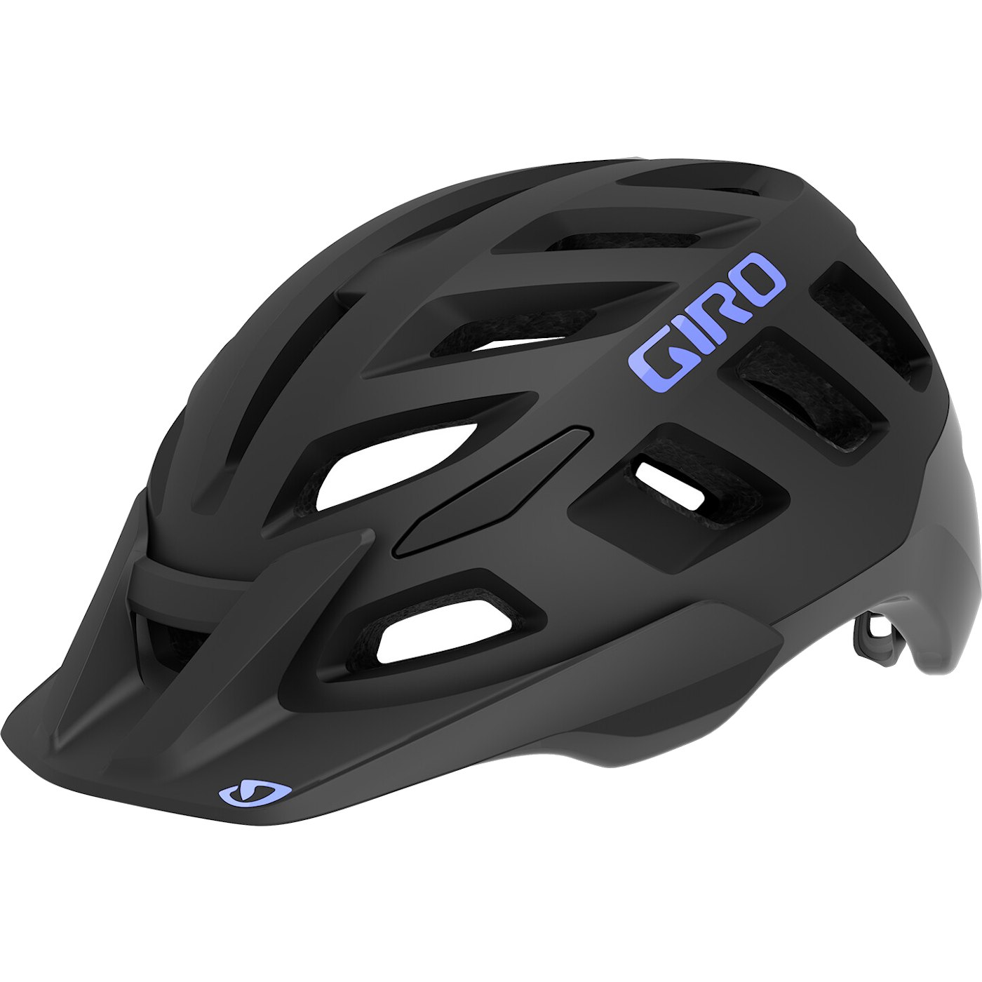 Giro Radix Women's Helmet - matte black / electric purple