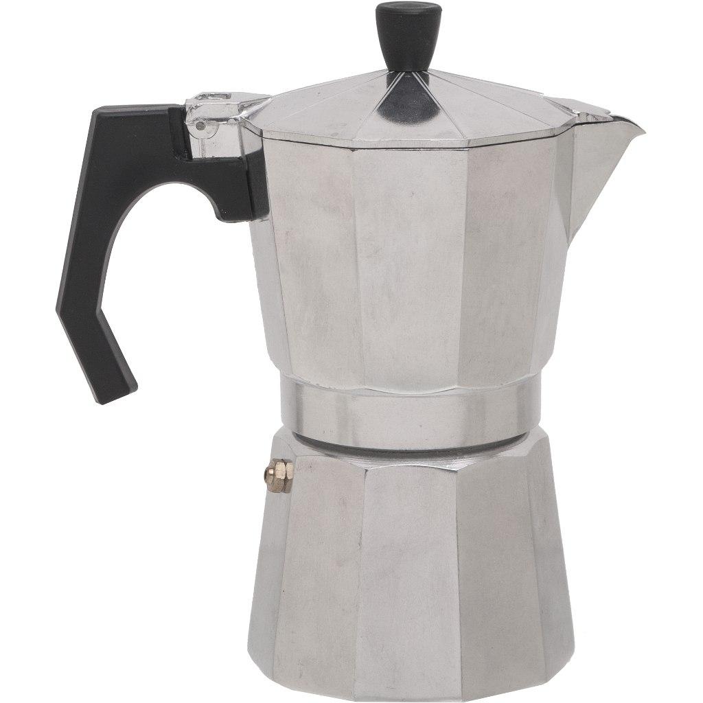 basic NATURE | Relags Espresso Maker Bellanapoli 6 Cups - alu nature