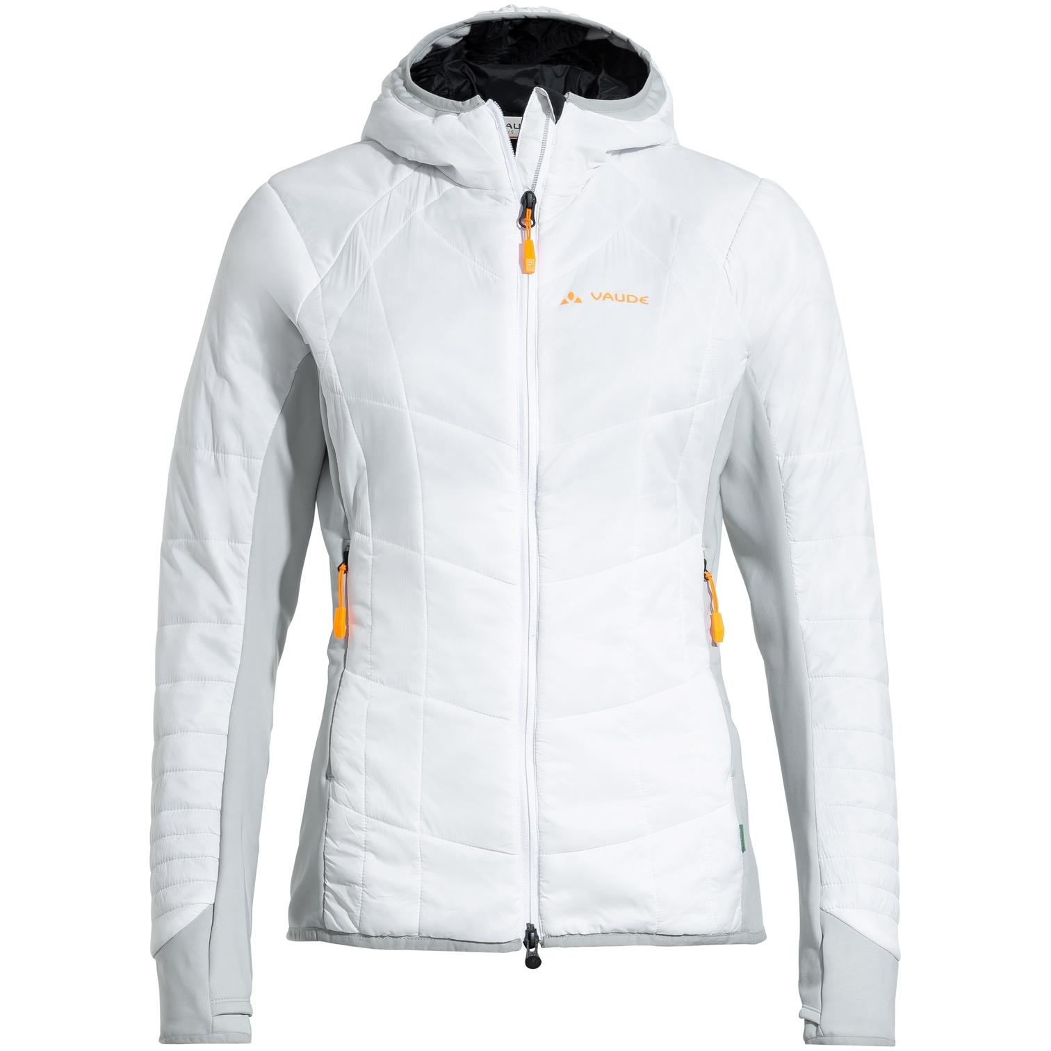 Image of Vaude Women's Sesvenna Jacket III - white/grey
