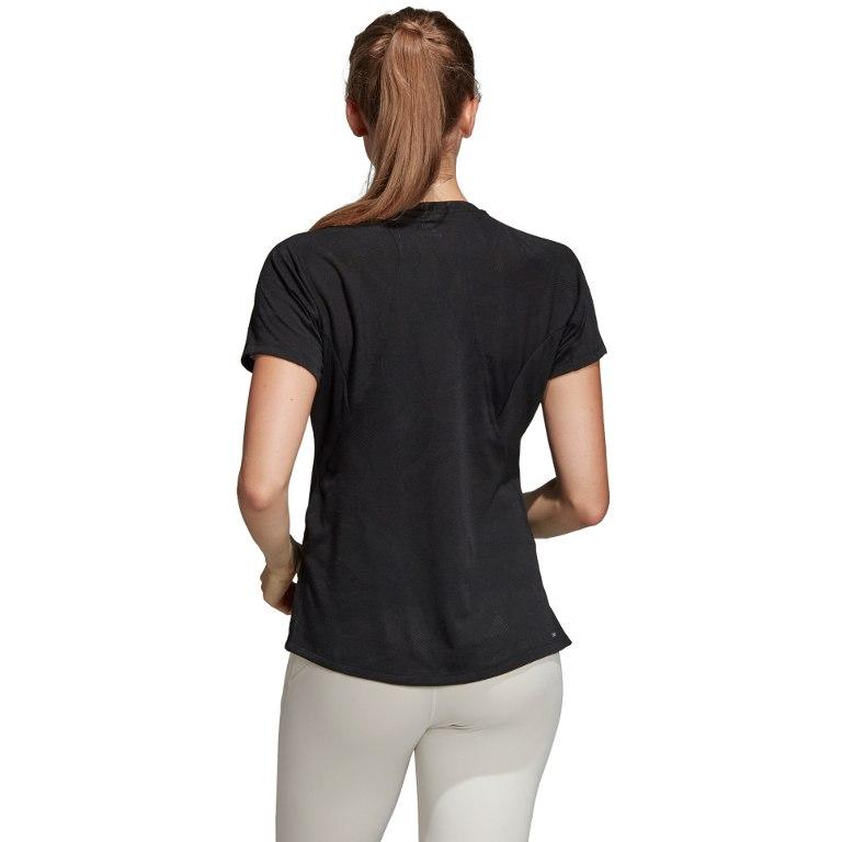 Image of adidas Women's Aeroknit Tee 2019 - black DU1323