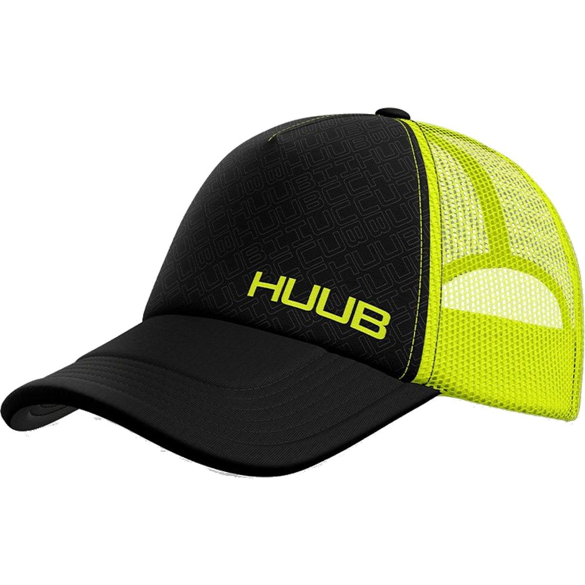 Produktbild von HUUB Design Running Baseball Cap - fluo gelb