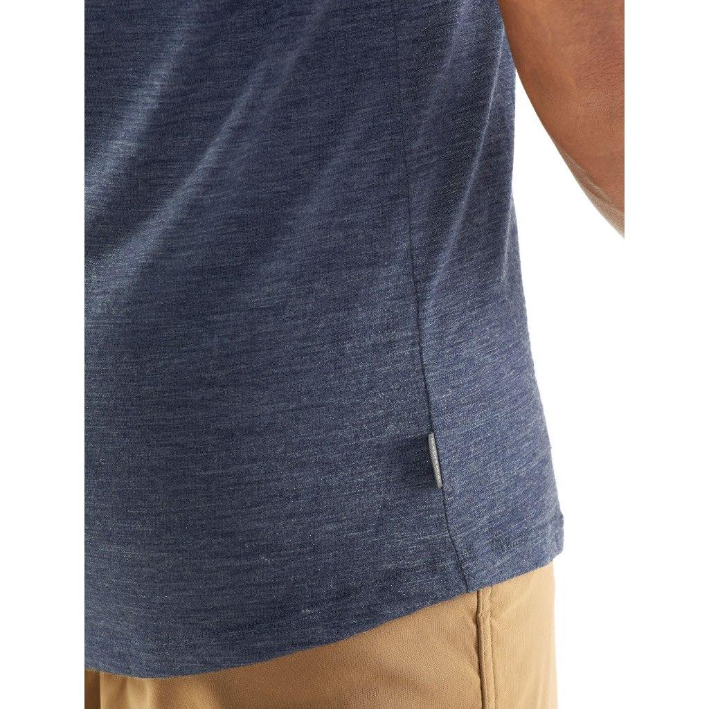 Bild von Icebreaker Sphere Crewe Herren T-Shirt - Black HTHR