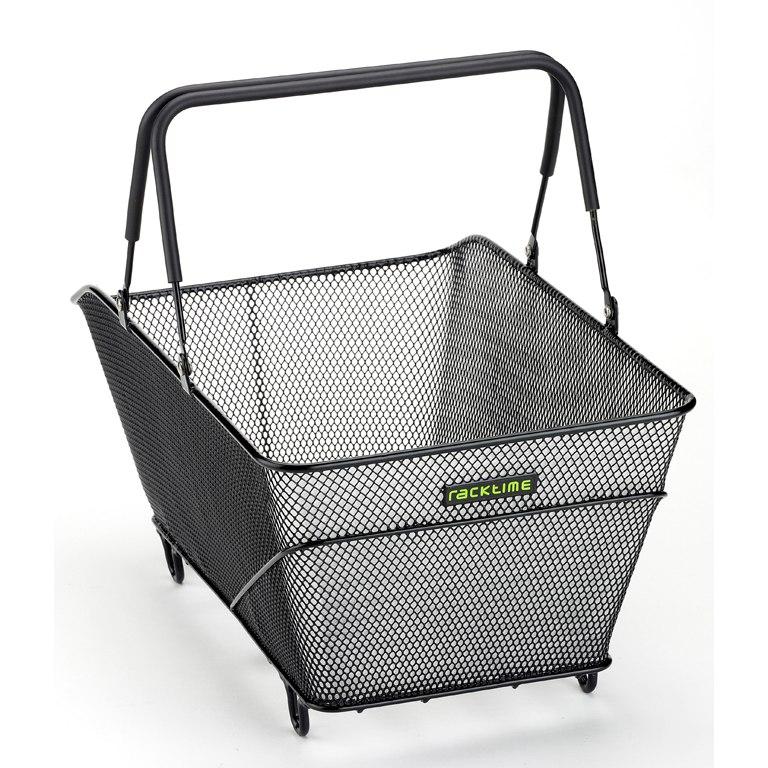 Foto de Racktime Baskit Trunk Carrier Basket - black