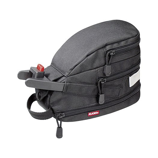 KLICKfix Contour Mini Sattelstützentasche 0216S - schwarz