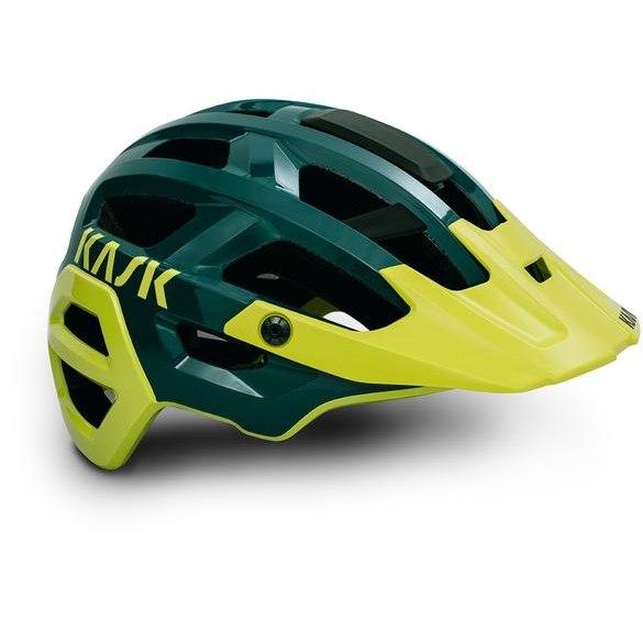 KASK Rex MTB Helm - Dark Green Yellow