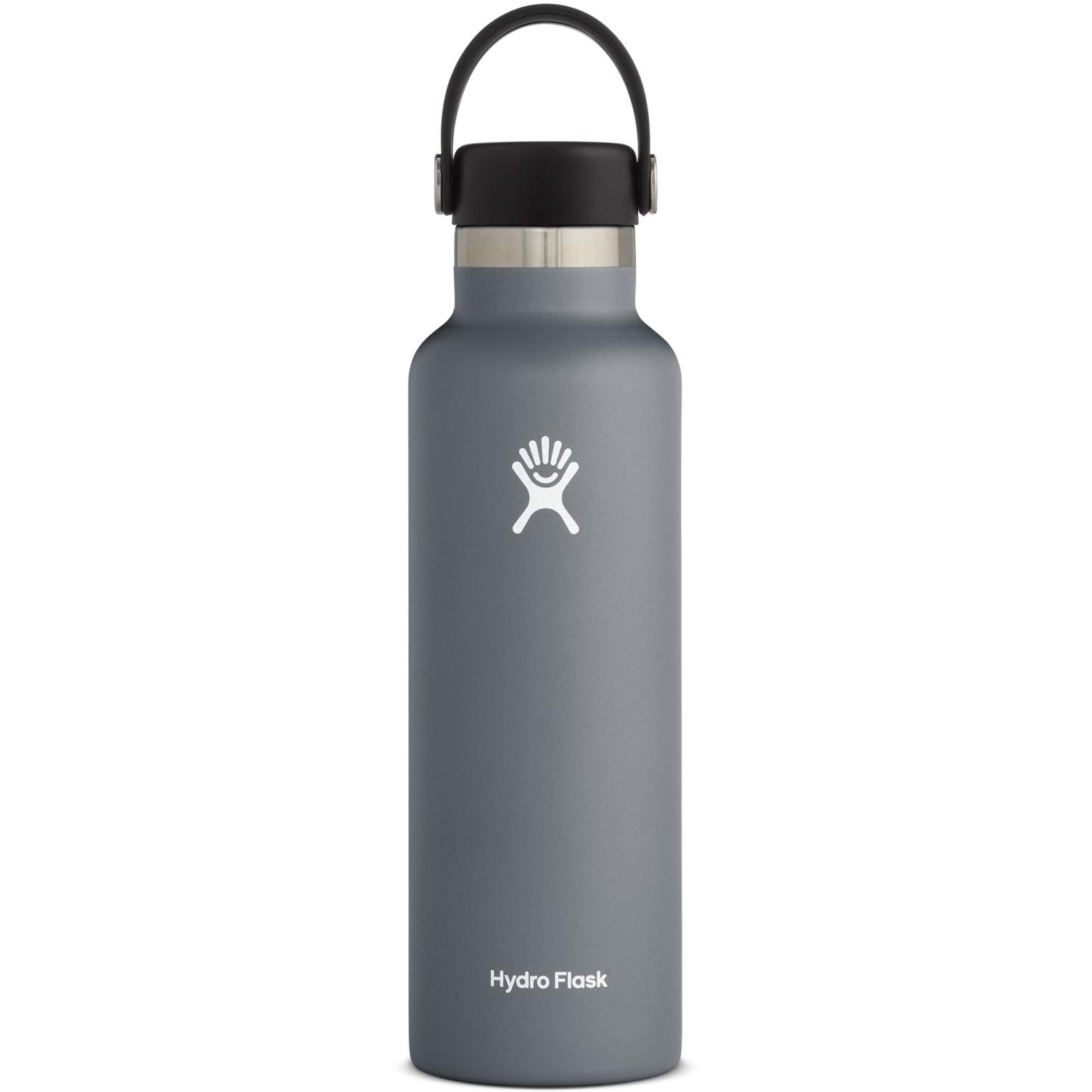 Produktbild von Hydro Flask 24oz Standard Mouth Flex Cap Thermoflasche 710ml - Stone