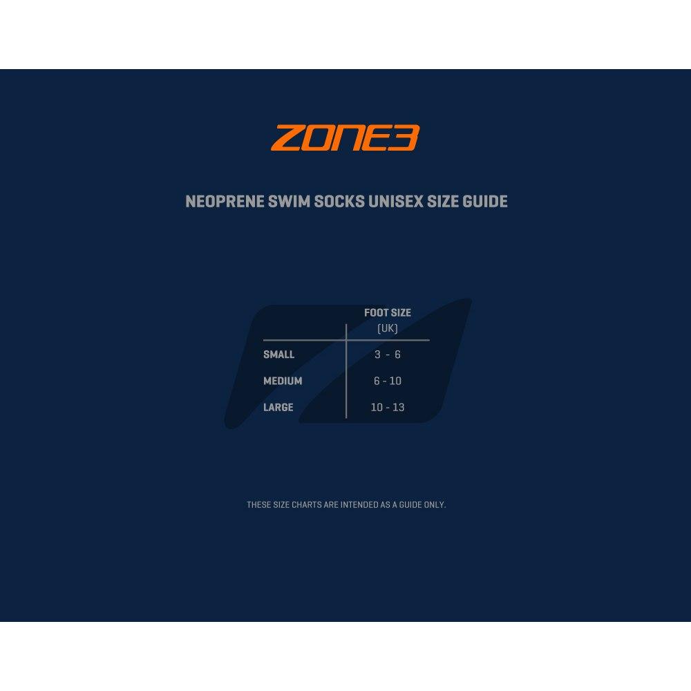 Bild von Zone3 Neoprene Schwimmsocken - schwarz/rot/weiß
