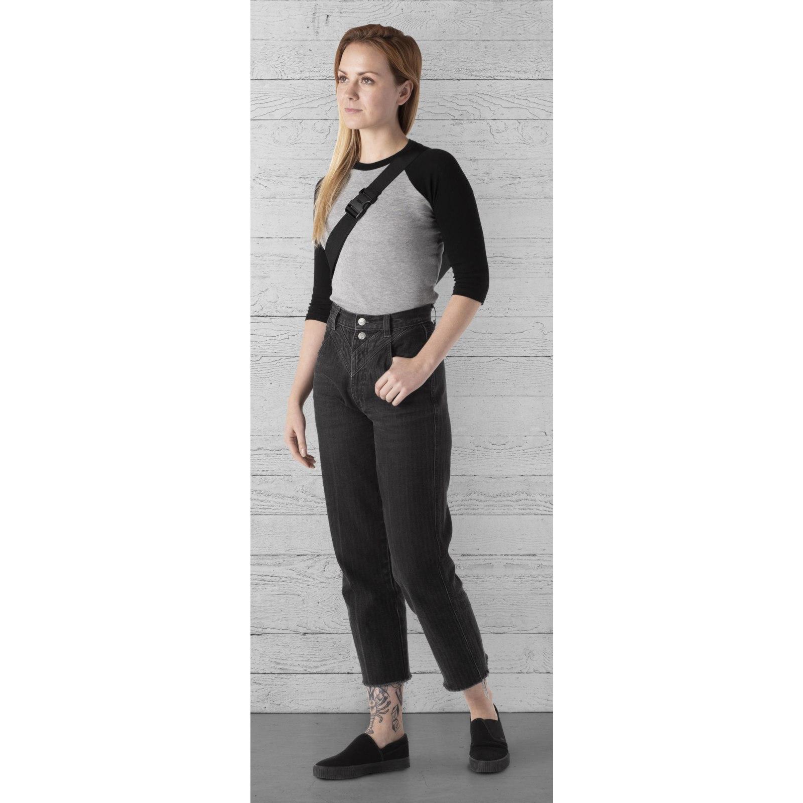 Image of CHROME Helix Handlebar Bag & Shoulder Bag - black