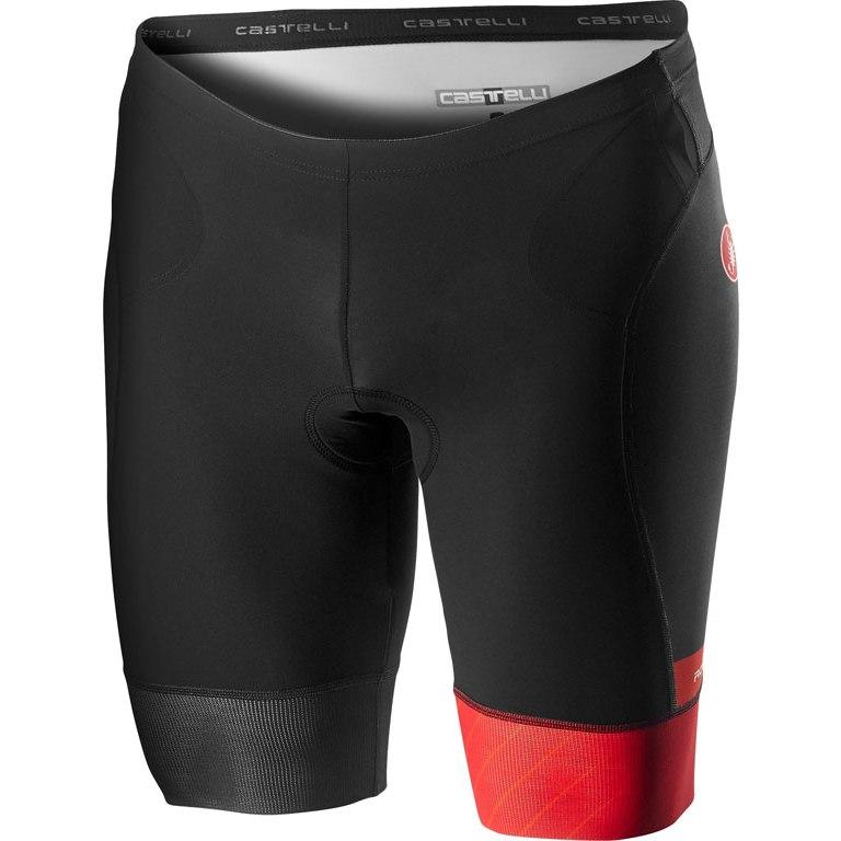 Castelli Free Tri Short - red/fiery red 023
