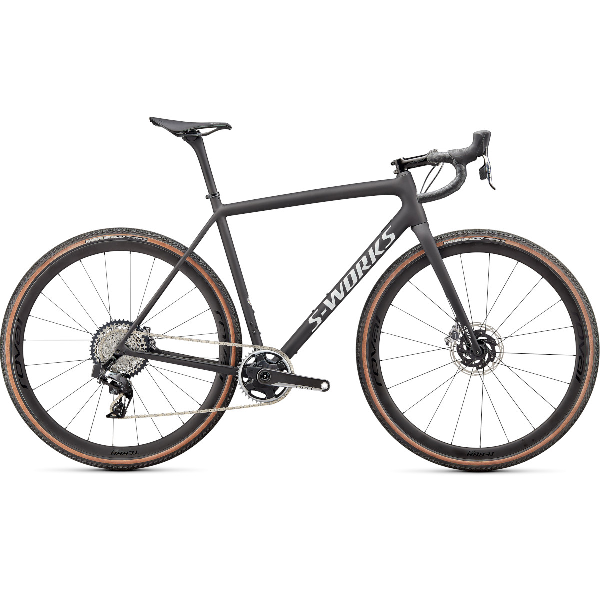 Specialized S-WORKS CRUX - RED eTAP AXS - Carbon Gravel Bike - 2022 - satin carbon / spectraflair / gloss abalone