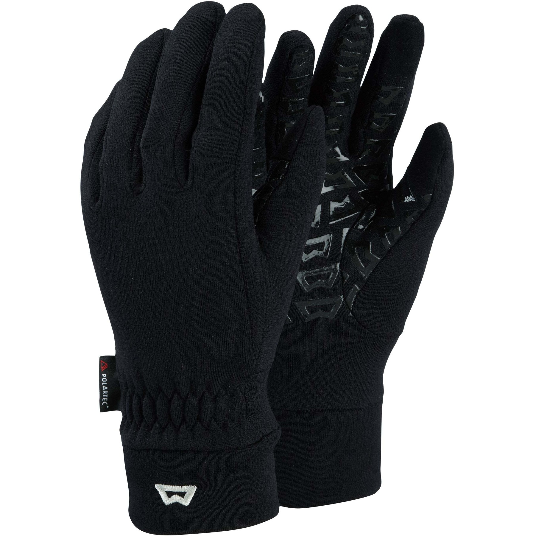 Picture of Mountain Equipment Touch Screen Grip Womens Glove ME-000928 - black