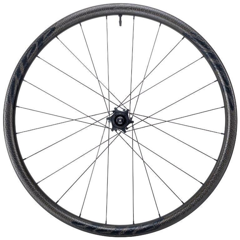 ZIPP 202 Firecrest Carbon Hinterrad - Tubeless - Drahtreifen - 6-Loch - 12x142mm / QR - schwarz