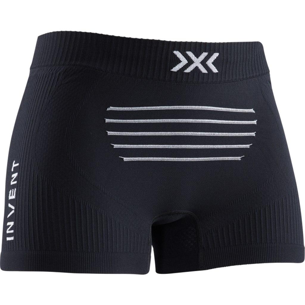 X-Bionic Invent 4.0 LT Boxer Shorts for Women - opal black/arctic white