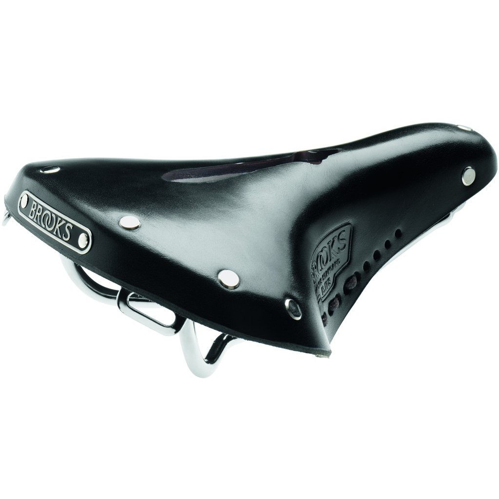 Brooks B17 S Imperial Bend Leather Lady's Saddle - black