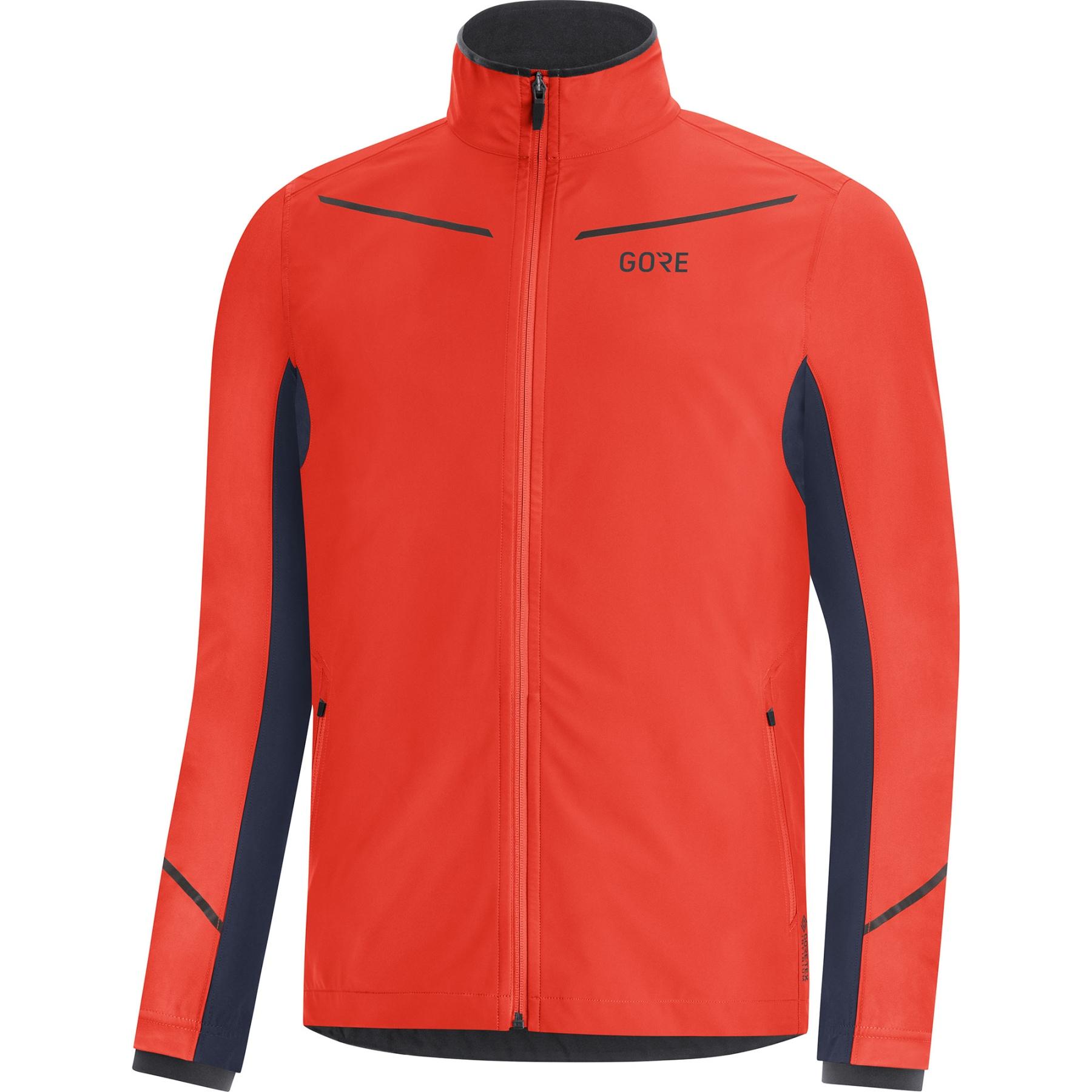 GORE Wear R3 GORE-TEX INFINIUM™ Partial Jacke - fireball/orbit blue AYAU