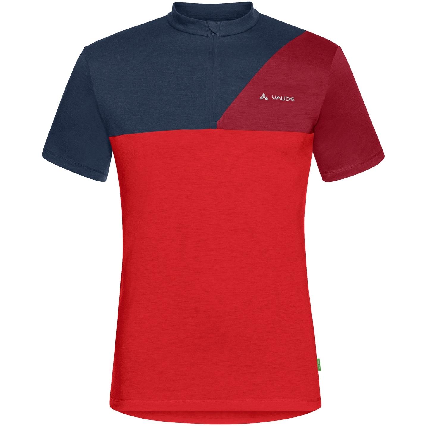Vaude Tremalzo Shirt IV - mars red