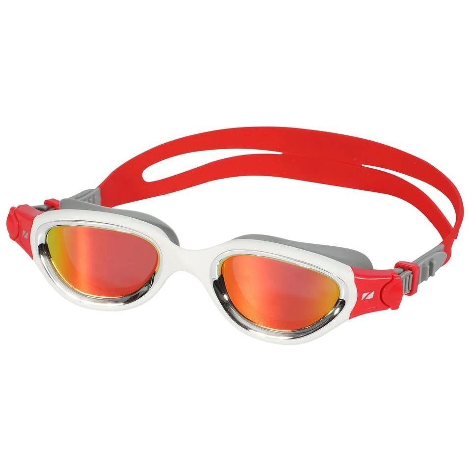 Bild von Zone3 Venator-X Schwimmbrille - Polarized - silver/white/red - polarized revo red lens