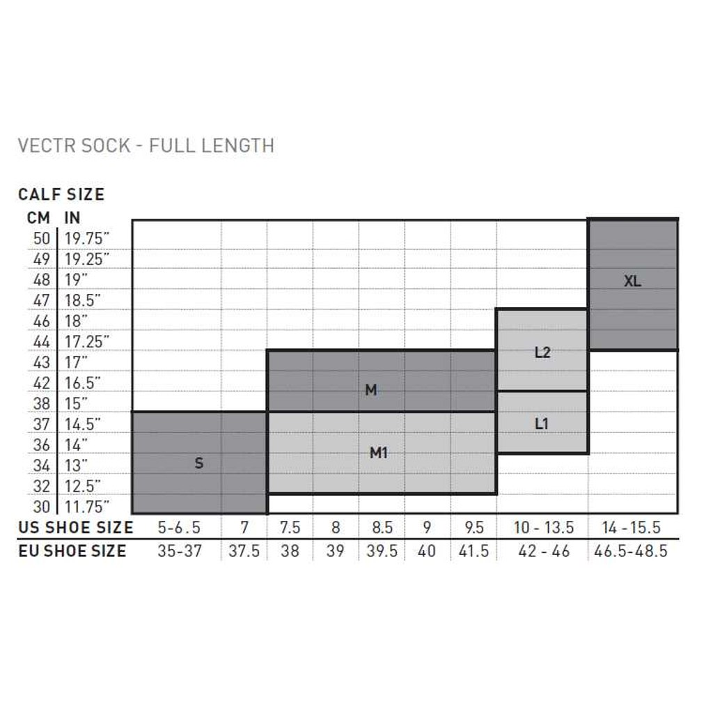 Imagen de 2XU Men's Vectr Light Cushion Knee High Sock UA5155e - white/grey