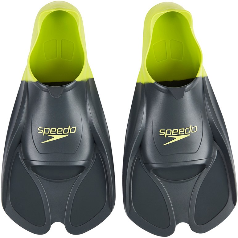 Speedo Biofuse Training Fin - oxid grey/lime punch
