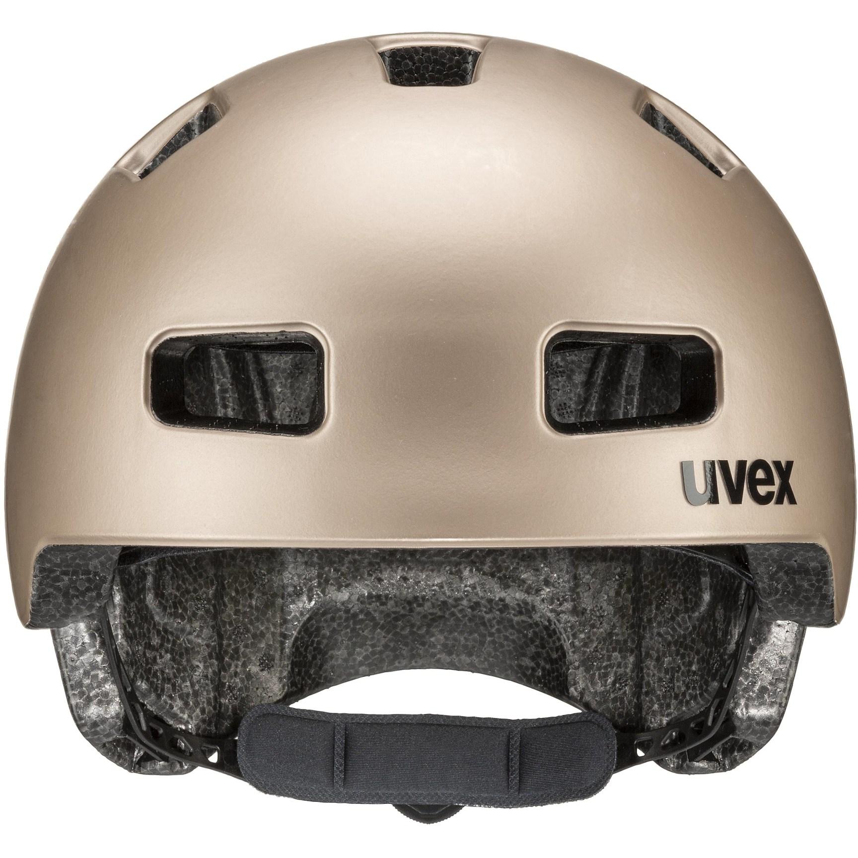 Image of Uvex city 4 Helmet - soft gold mat