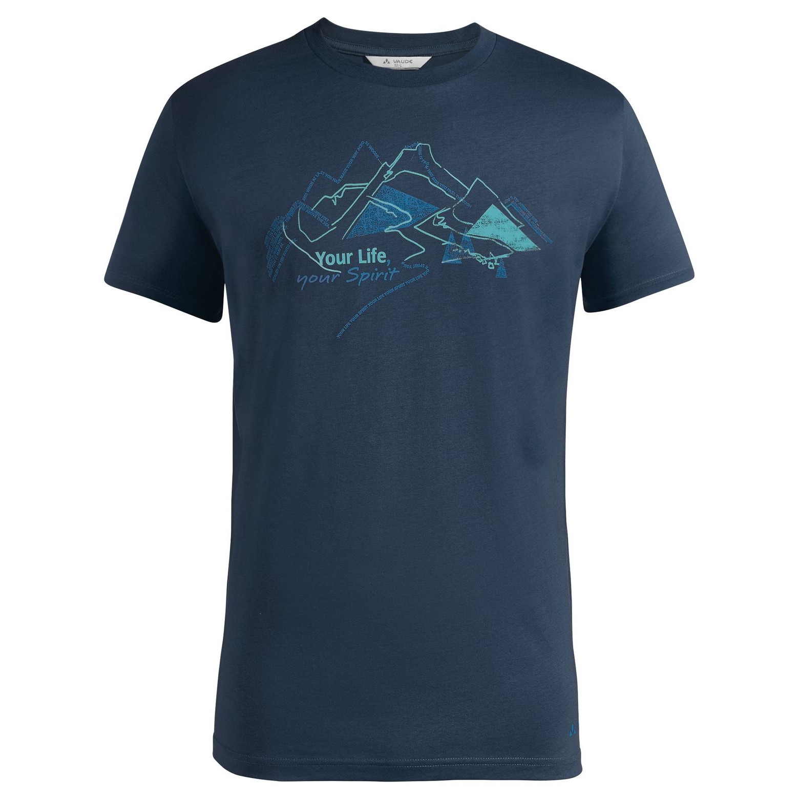 Vaude Spirit T-Shirt - dark sea