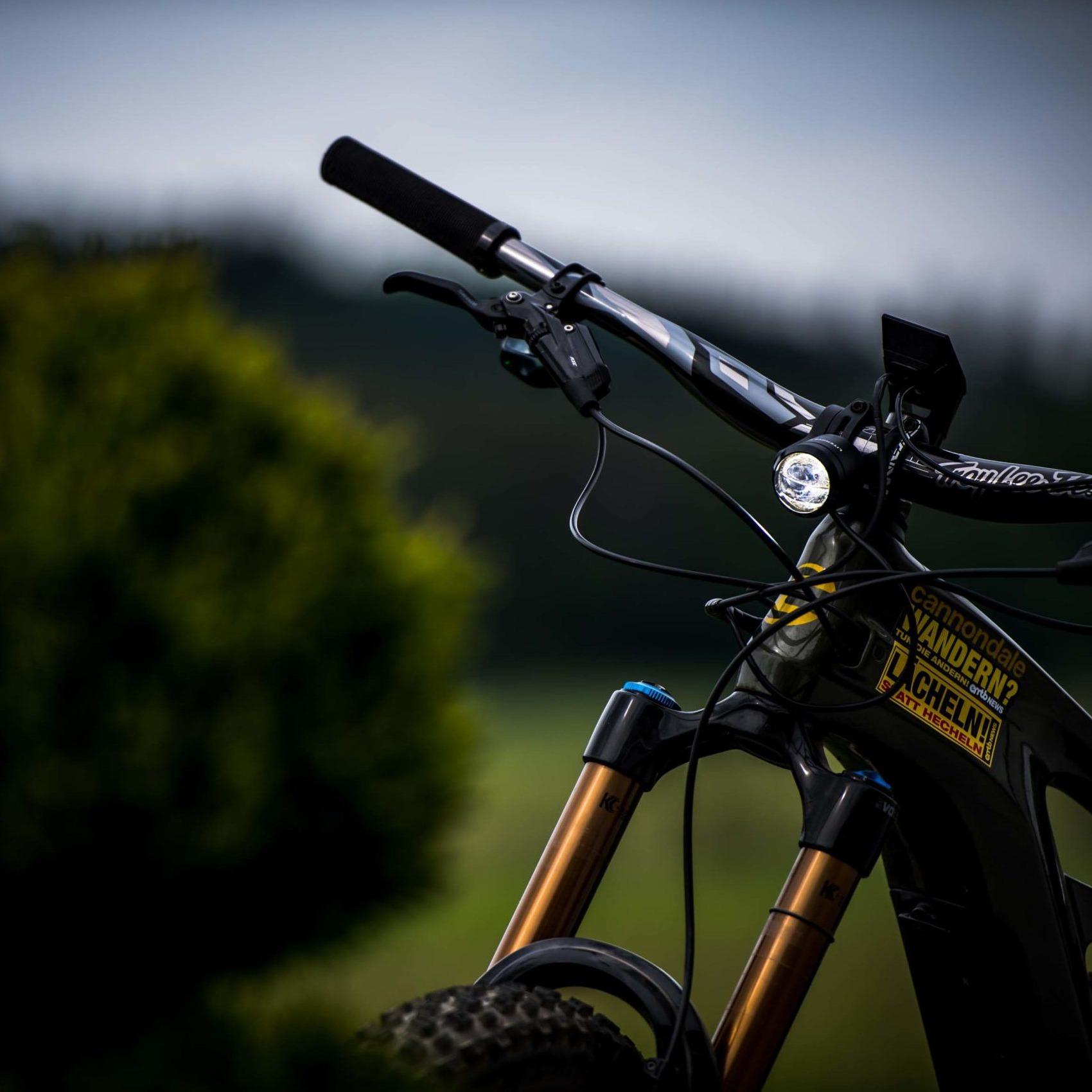 Bild von Litemove SE-150 LED Frontleuchte für E-Bikes - HKSE150D - mit Reflektor, verstellbar