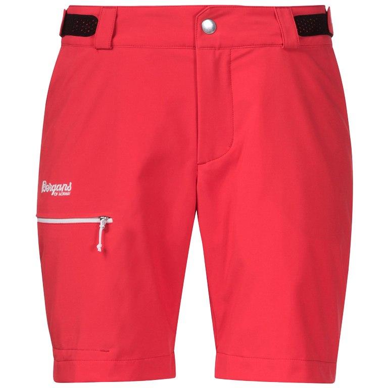 Bergans Slingsby LT Softshell Women's Shorts - Strawberry/White
