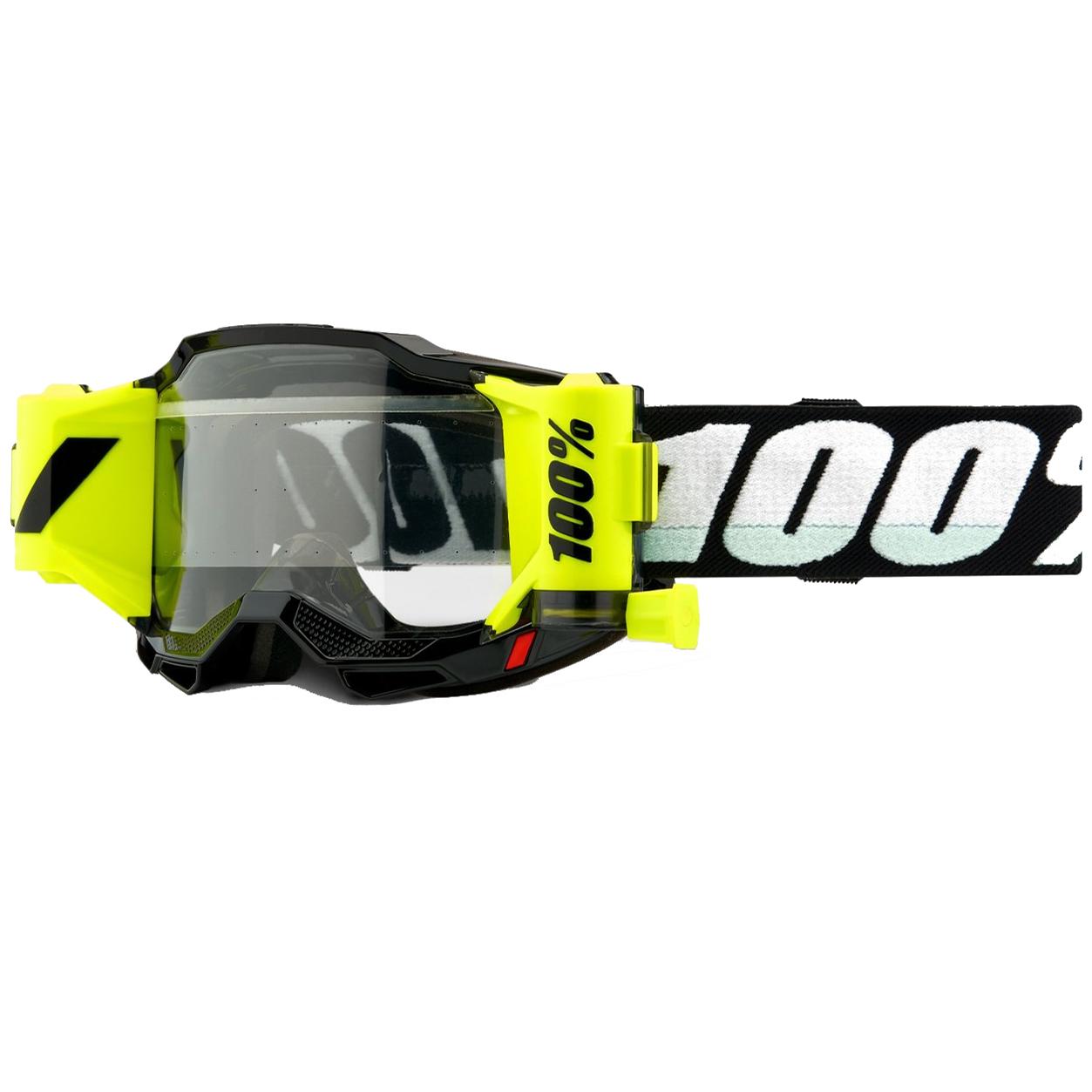 100% Accuri Forecast 2 Gafas con Sistema de Película - Black - clear