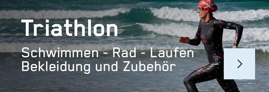 Triathlon-Zubehör, Bekleidung & Equipment